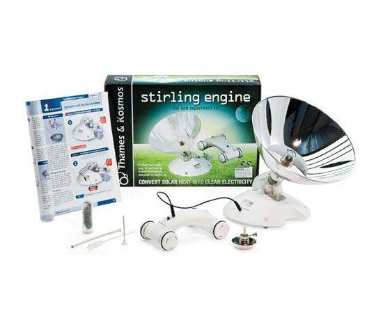 Thames & Kosmos Motor Stirling: Convertir solar calor en electricidad limpia