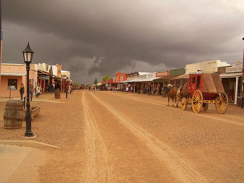 Tombstone Arizona.  A wonderful place for history and fantastic period shopping.
