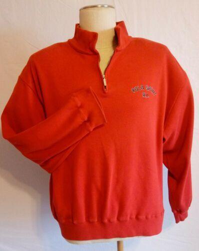 Polo S 100Cotton Ralph Xl Lauren Bold Size Men Red Sport Sweater wOTXikuPZl