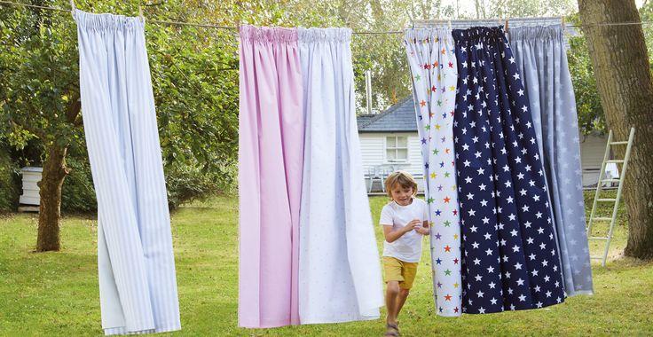 Children's Blackout Curtains - Pom Pom Lace