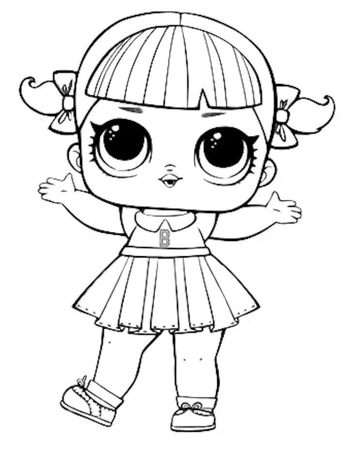 Lol Surprise Dolls Coloring Pages Print Them For Free All The Series Lol Dolls Doll Drawing Coloring Books