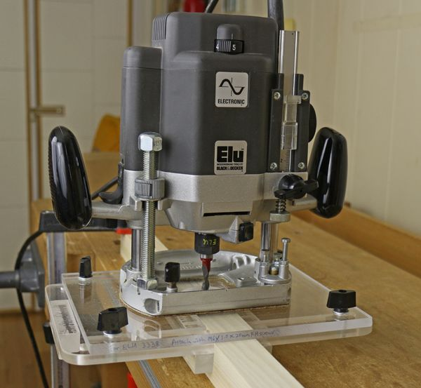 Router Mortising With A Simple Jig