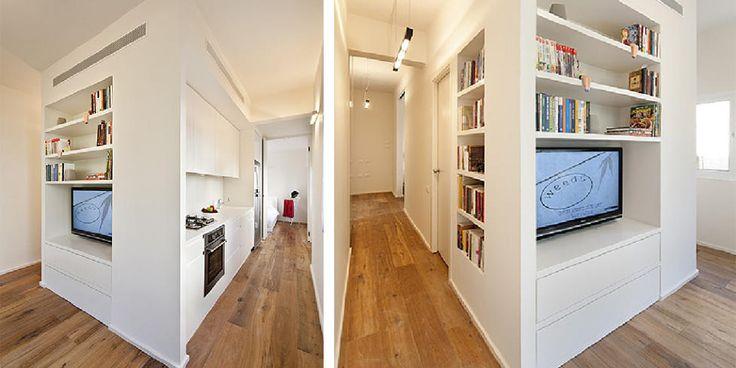 Praktisk løsning for små leiligheter