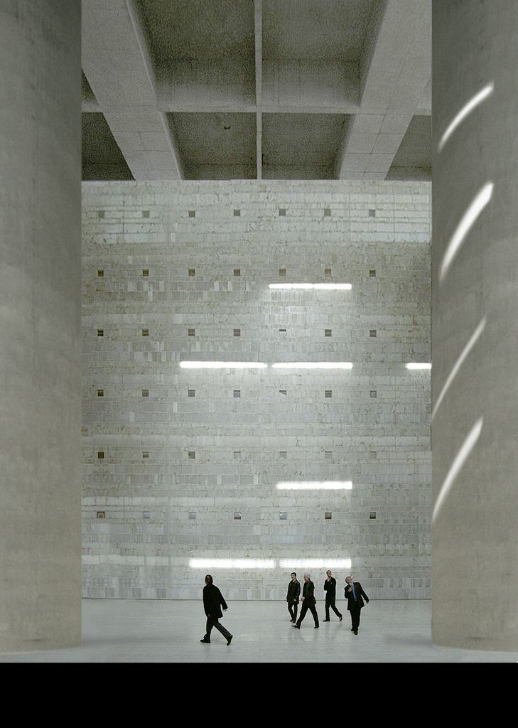 Alberto Campo Baeza - Caja de Granada, 2001.