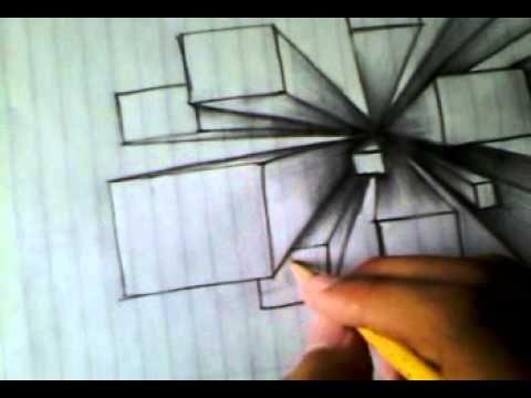 Ms de 25 ideas increbles sobre Dibujos 3d faciles en Pinterest