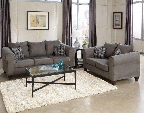 Grey Microfiber Sofa Set Best Collections Of Sofas And Couches Sofacouchs Com Sofa And Loveseat Set Cheap Living Room Sets Cheap Couch