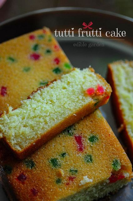 Tutti Frutti Christmas Cake, an easy one-bowl tutti frutti cake with buttermilk that can be made in just one bowl. Step by step recipe with pictures.