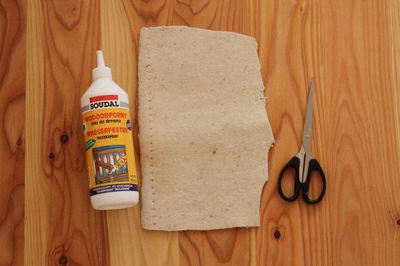 Jak zrobić filcowe podkładki pod meble | i-love-diy