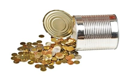 """My new post at Hubspot: """"Coin Canisters: The Low-Tech Fundraiser That Can Make You Rich"""" #fwb40"""