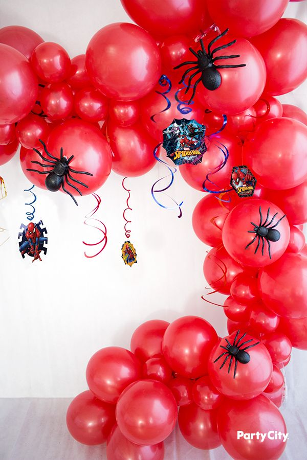 Pin by Anthea Crown on SS20 in 2019 | Balloons, Spiderman