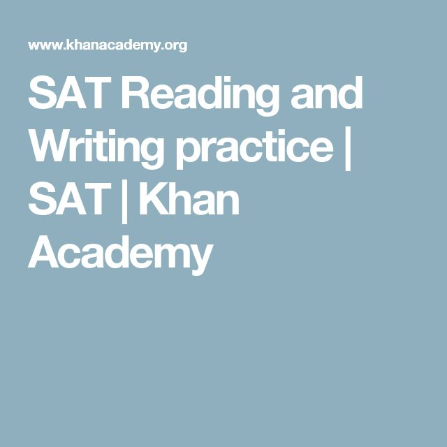 SAT Reading and Writing practice | SAT | Khan Academy