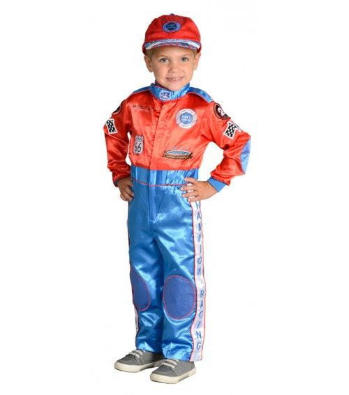 Jr. Champion Racing Suit Costume