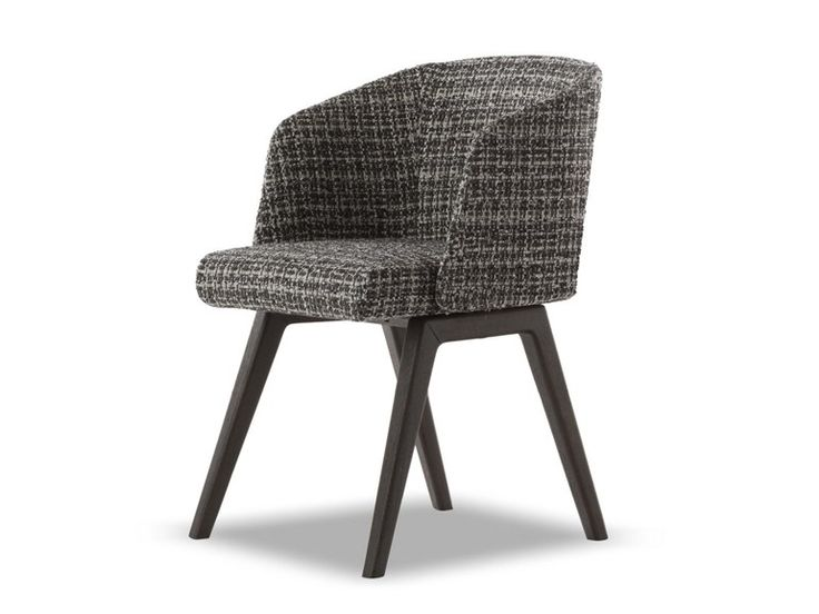Chair CREED LITTLE ARMCHAIR by Minotti design Rodolfo Dordoni