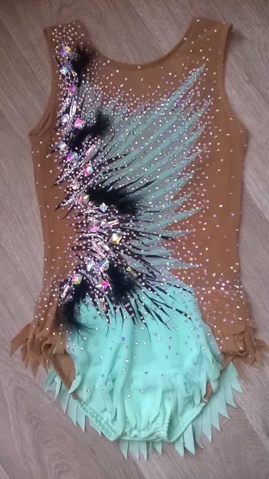 Made To Measure RHYTHMIC GYMNASTICS Leotard Kids Dancewear