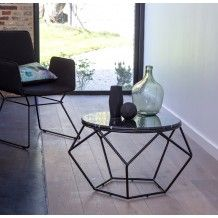1000 ideas about metal coffee tables on pinterest - Table basse gigogne ronde ...