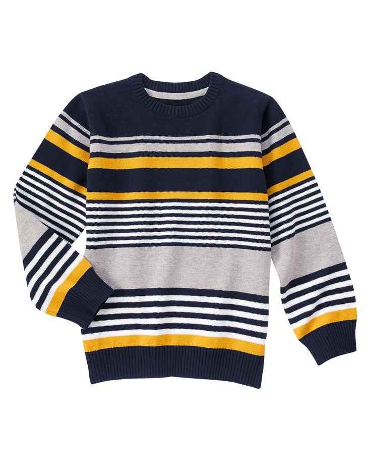Striped Sweater at Gymboree