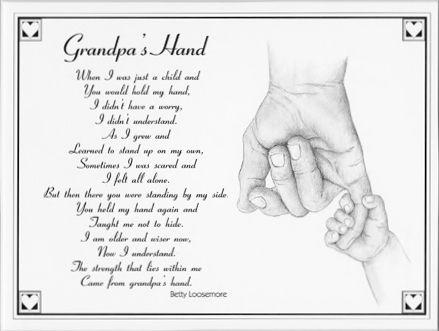 Grandpa S Hand Made Me Cry I Love My Grandpa More Than