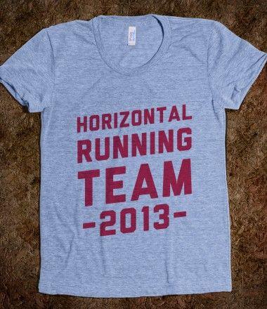 Horizontal Running Team 2013 - gotta love pitch perfect!