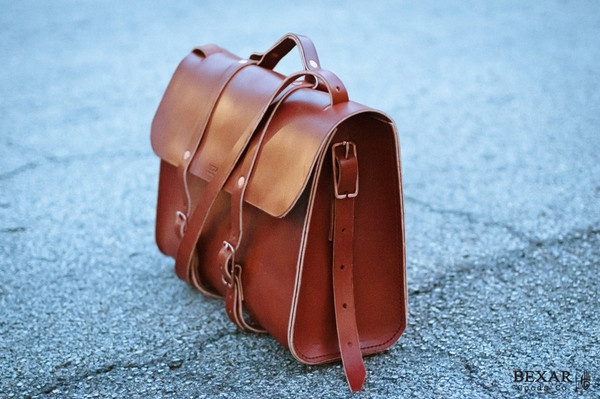 Porter || Leather Weekender Carry from Bexar goods $695