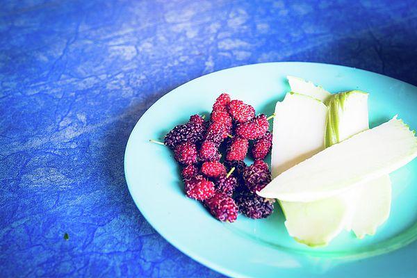 Red Fresh Berries  Photograph by Nadezhda Tikhaia   #NadezhdaTikhaiaFineArtPhotography #ArtForHome #HomeDecor #Food #InteriorDesign #FineArtPrints