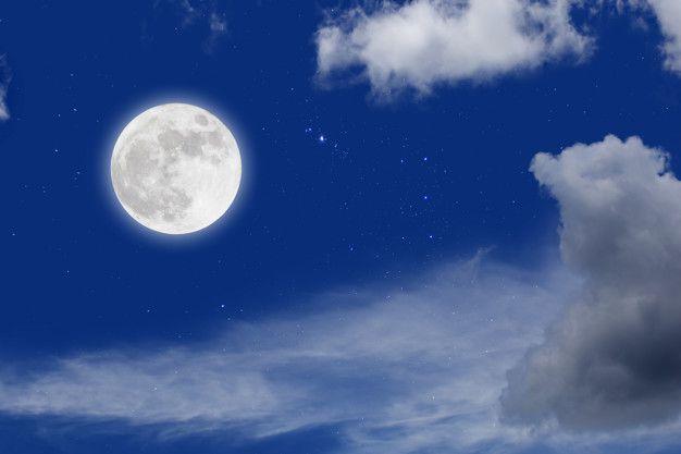 Pin En Lunas Llenas Noche