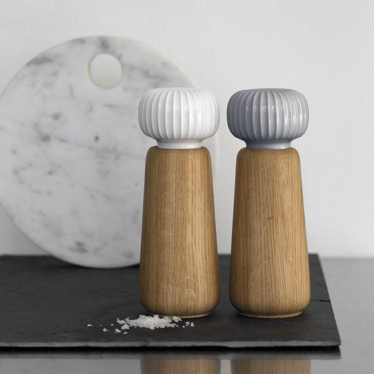 Hammershøi salt/peber kværn - Køb på Dubuy.dk