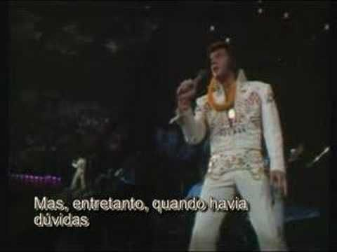 Elvis Presley Live - My Way - Aloha From Hawaii  and he was gone only 4 years later - how I cried