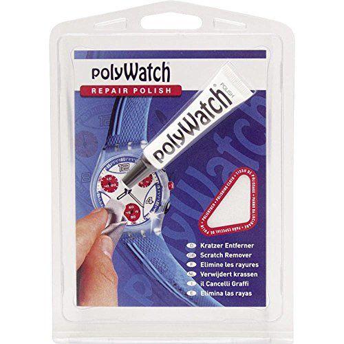 PolyWatch Pâte à polir Plus avec 2chiffons: Produit de marque allemande 100% qualité pour enlever les rayures légères sur horloge verres…