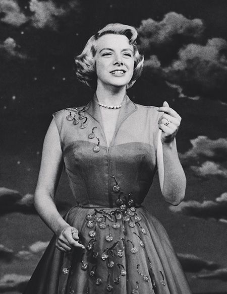 "Rosemary Clooney - Photo Courtesy of Clooney Tunes (From ""Diablo Magazine"")"