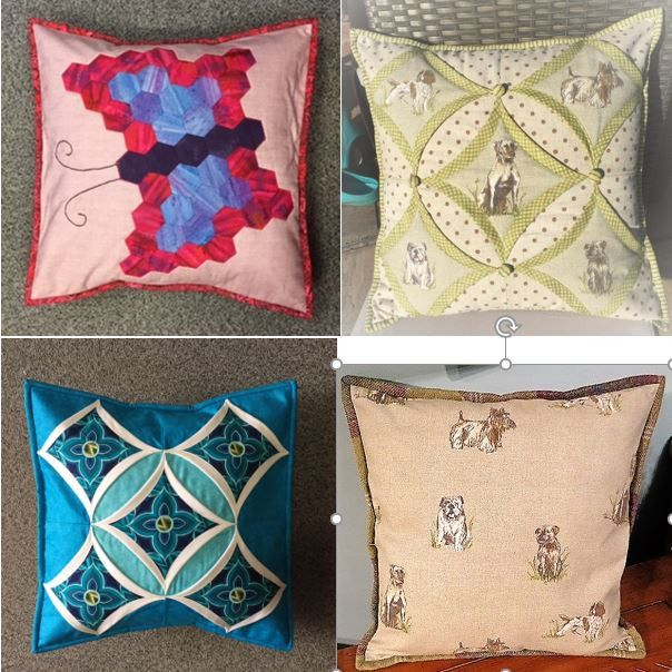 We have a number of different designs for cushion covers created for, and demonstrated on HOCHANDA - now available to order online!