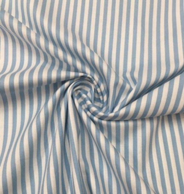 Cottage striped blu Panini Tessuti