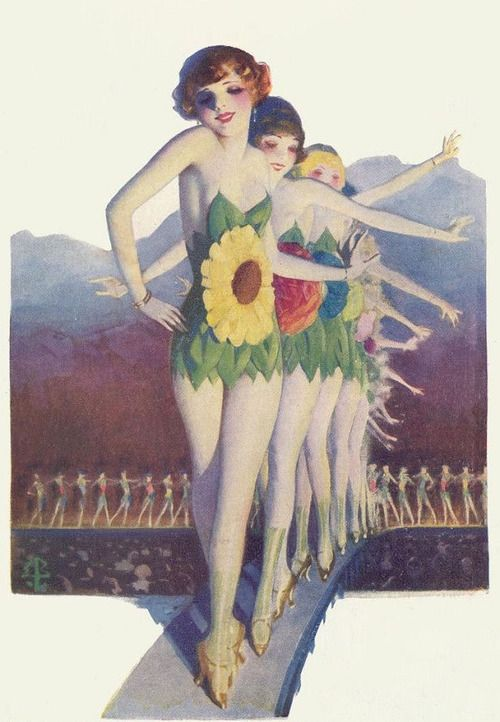 Confessions of a Chorus Girl  from Snappy Stories  by Enoch Bolles 1920's