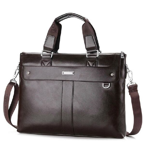 Casual Briefcase Genuine Leather