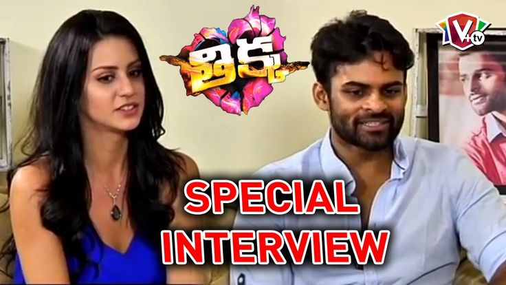 Sai Dharam Tej and Larissa Bonesi Special interview - Thikka Movie | Man...