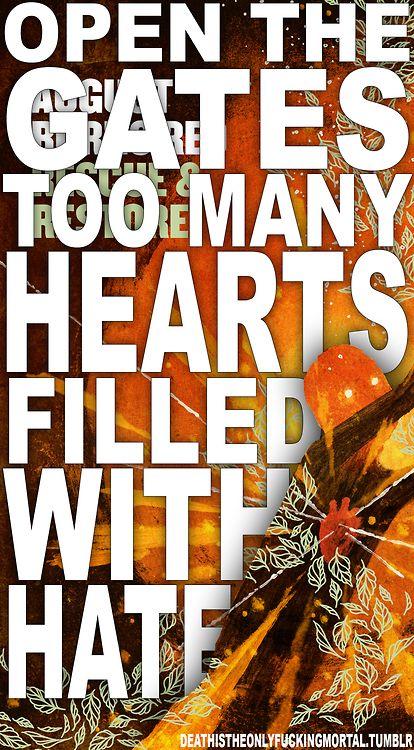 August Burns Red #lyrics