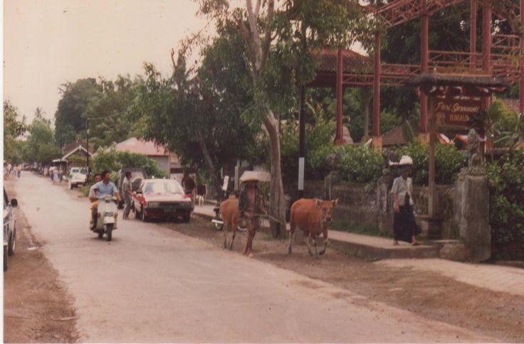 Across from Market Ubud 1988