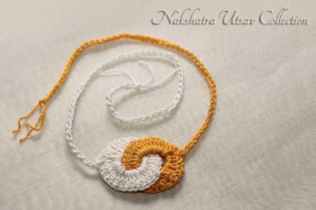 Nakshatra Utsav Collection: NUC_crochet_rakhi_002