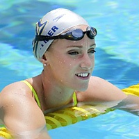 Beneath the surface, star swimmer Dana Vollmer dealt with a condition that could stop her heart at any time.  +Good article except Cook Children's Hospital is in  Fort Worth, not Dallas. Someone else might want to take their child there so it should be corrected.