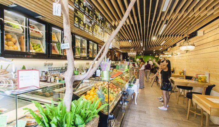 Novagea, Athens, Greece #juices #smoothies #veganfriendly #wraps #coffee #salads