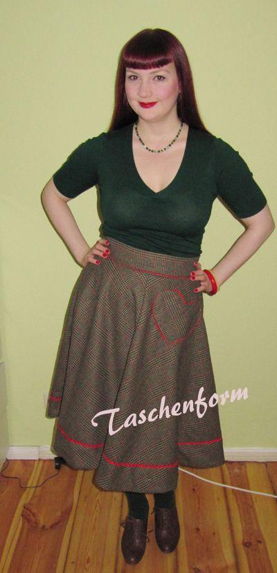 Ahoi liebe Mitkreisler!    Ich zeige euch heute, wie man ganz einfach einen klassischen Tellerrock näht.  Das Schön...