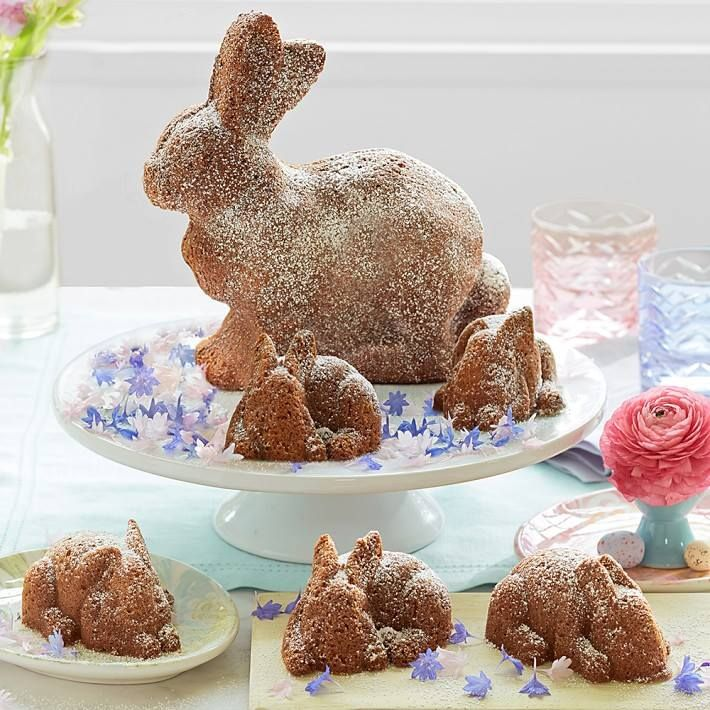Easter Bunny Bundt Cake Pan