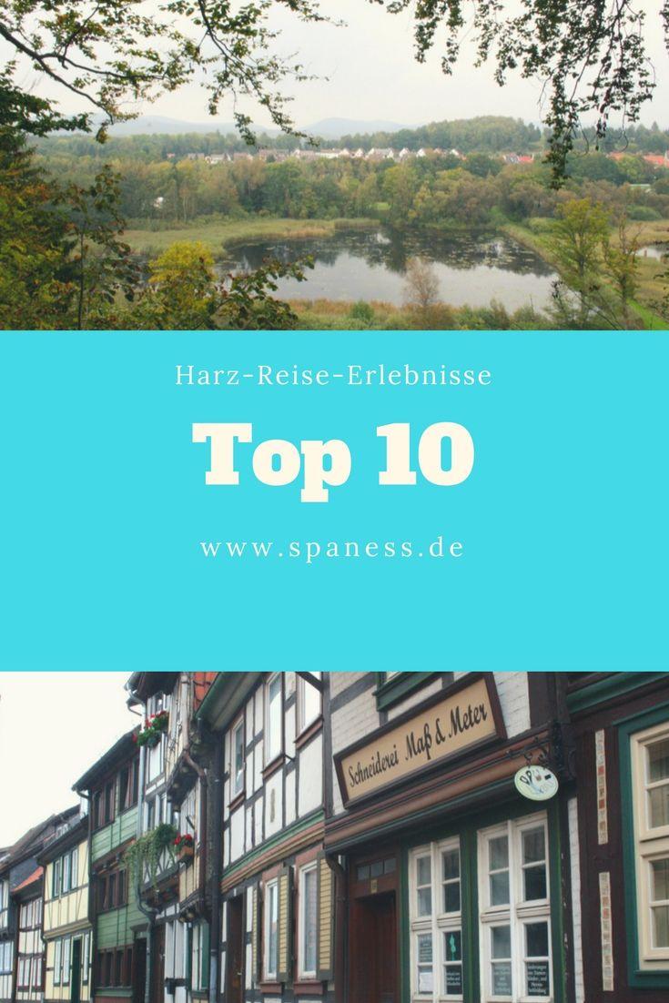 Harz Urlaub - Top 10 Erlebnisse im Harz + Hoteltipps!