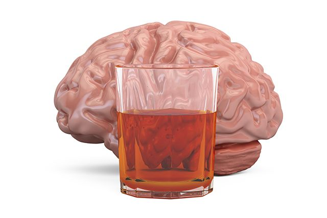 Most common mental health disorder in people addicted to alcohol