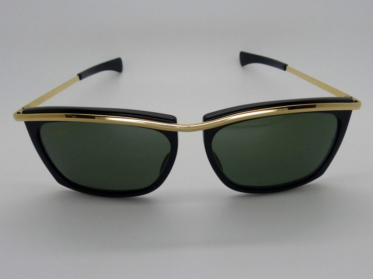 Vintage B&L Ray Ban Ebony Olympian II G15 Sunglasses by VSOx on Etsy