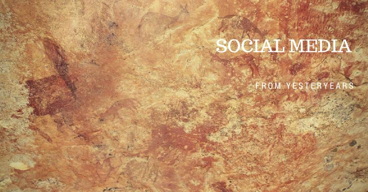 TOUCH this image: From rock painting to high tech we are still social - get... by Alson Bhebe