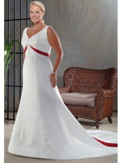 93 best Red Wedding Dresses images on Pinterest Wedding dressses