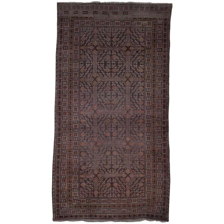 Late 19th Century Samarkand (Khotan) Carpet For Sale