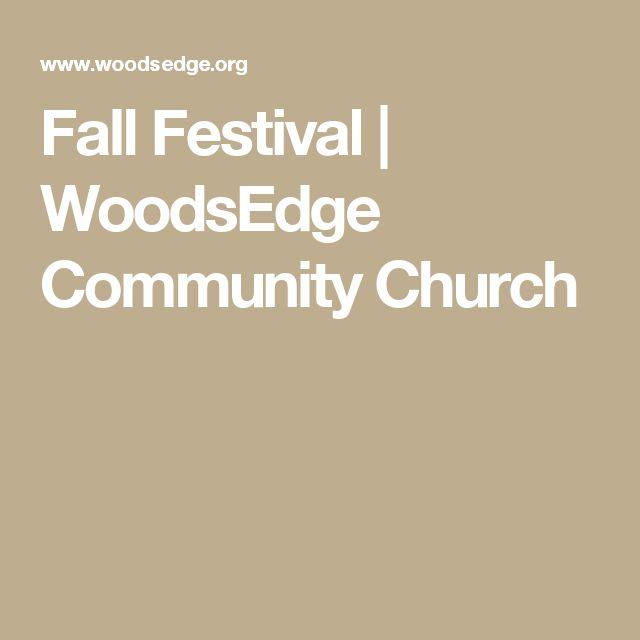 Fall Festival | WoodsEdge Community Church