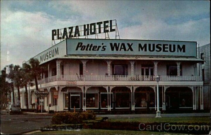 Plaza Hotel/Potter's Wax Museum 1960s