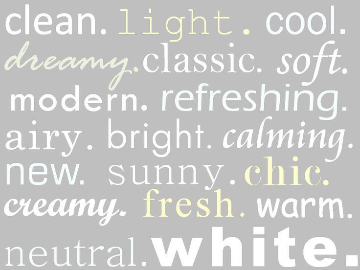 ZsaZsa Bellagio: White Home Style